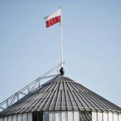 flaga na sejmie